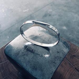 Bracelet One, bijoux argent design adrien moniquet artisan, pour Artsphalte